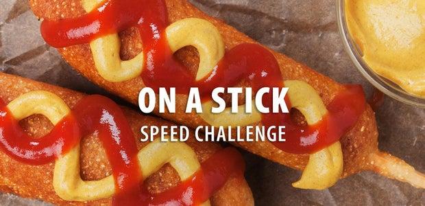 On a Stick Speed Challenge