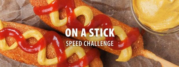 关于棍棒速度挑战