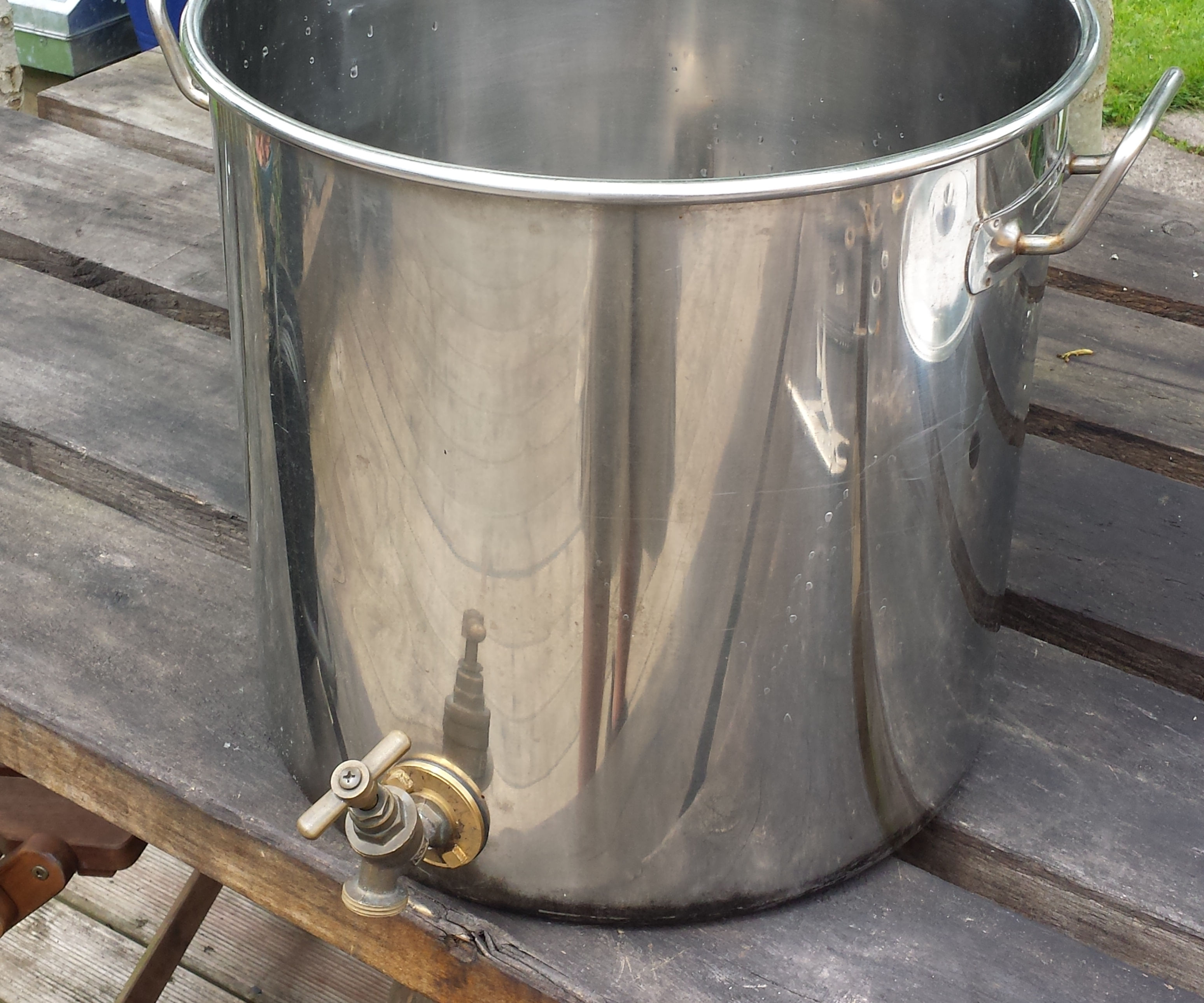 Simple Self-filter Mash Tun for All-grain Beer