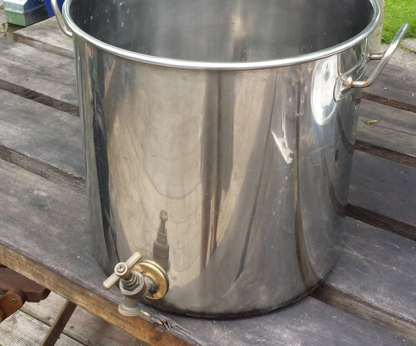 Simple Self-filter Mash Tun for All-grain Beer