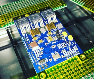 Web Controlled SMD Electronics Reflow Oven
