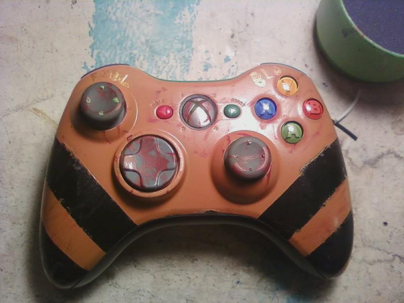 Custom Paint an Xbox 360 Controller