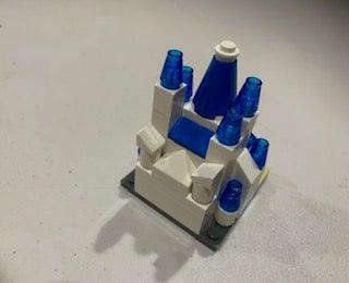 Mini Lego Disney Castle