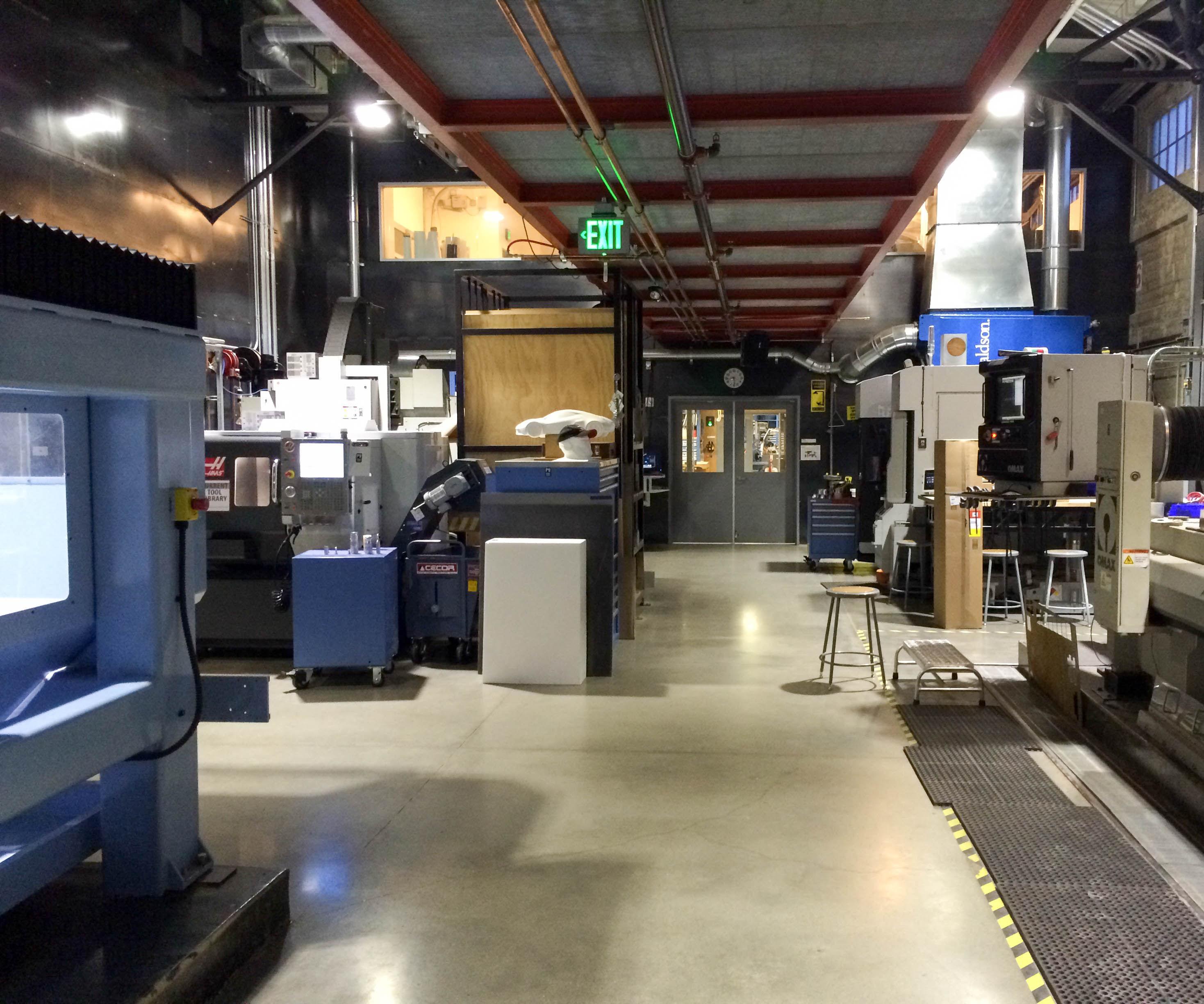 Pier 9 Resource: CNC Shop Introduction