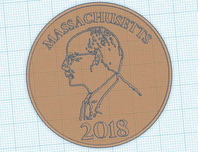 Personalized Plastic Coin
