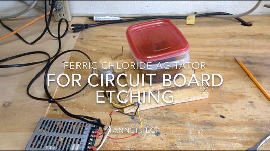 Ferric Chloride Agitator for Circuit Board Etching