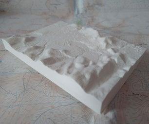 3D Print a Custom Raised-relief Map