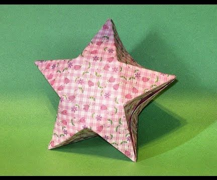 How to Make an Origami Lucky Star