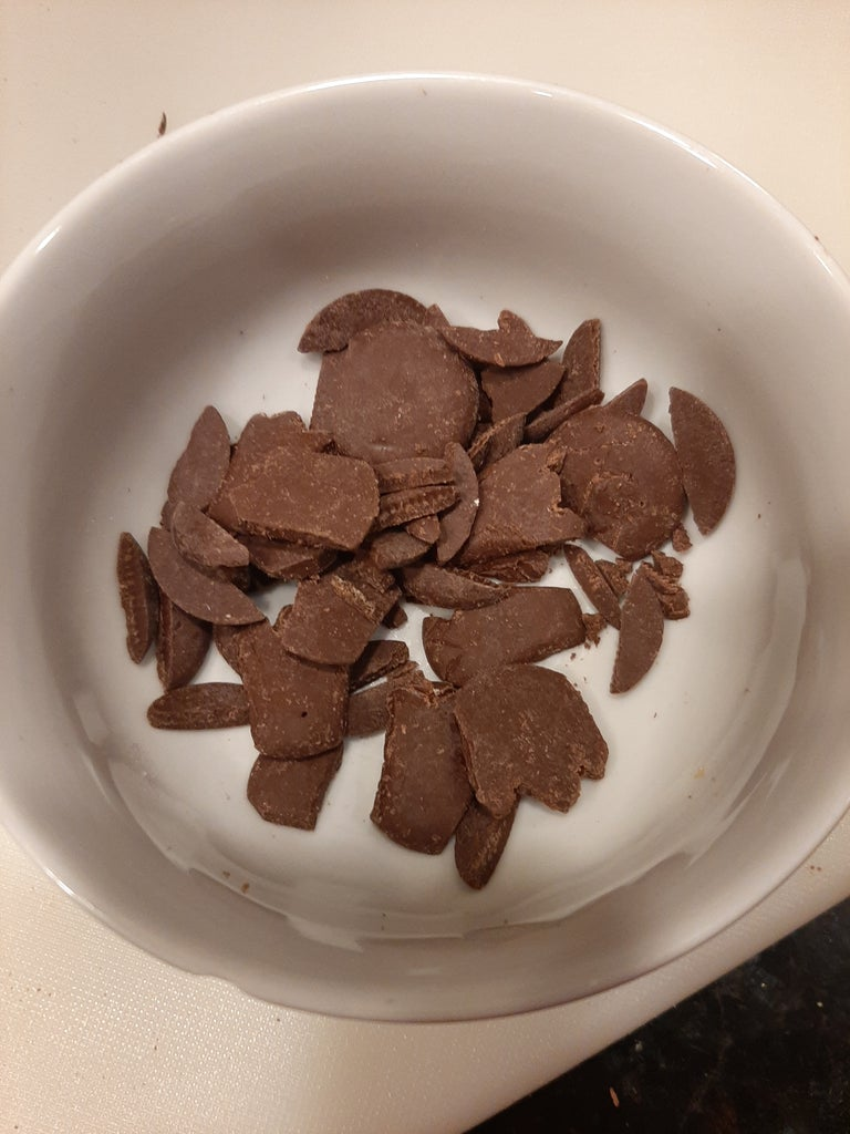 Melt Your Left Over Chocolate Pieces