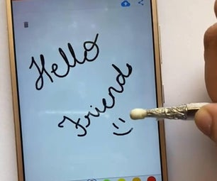 DIY简单的手写笔铅笔