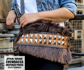 Star Wars Chewbacca Inspired Purse