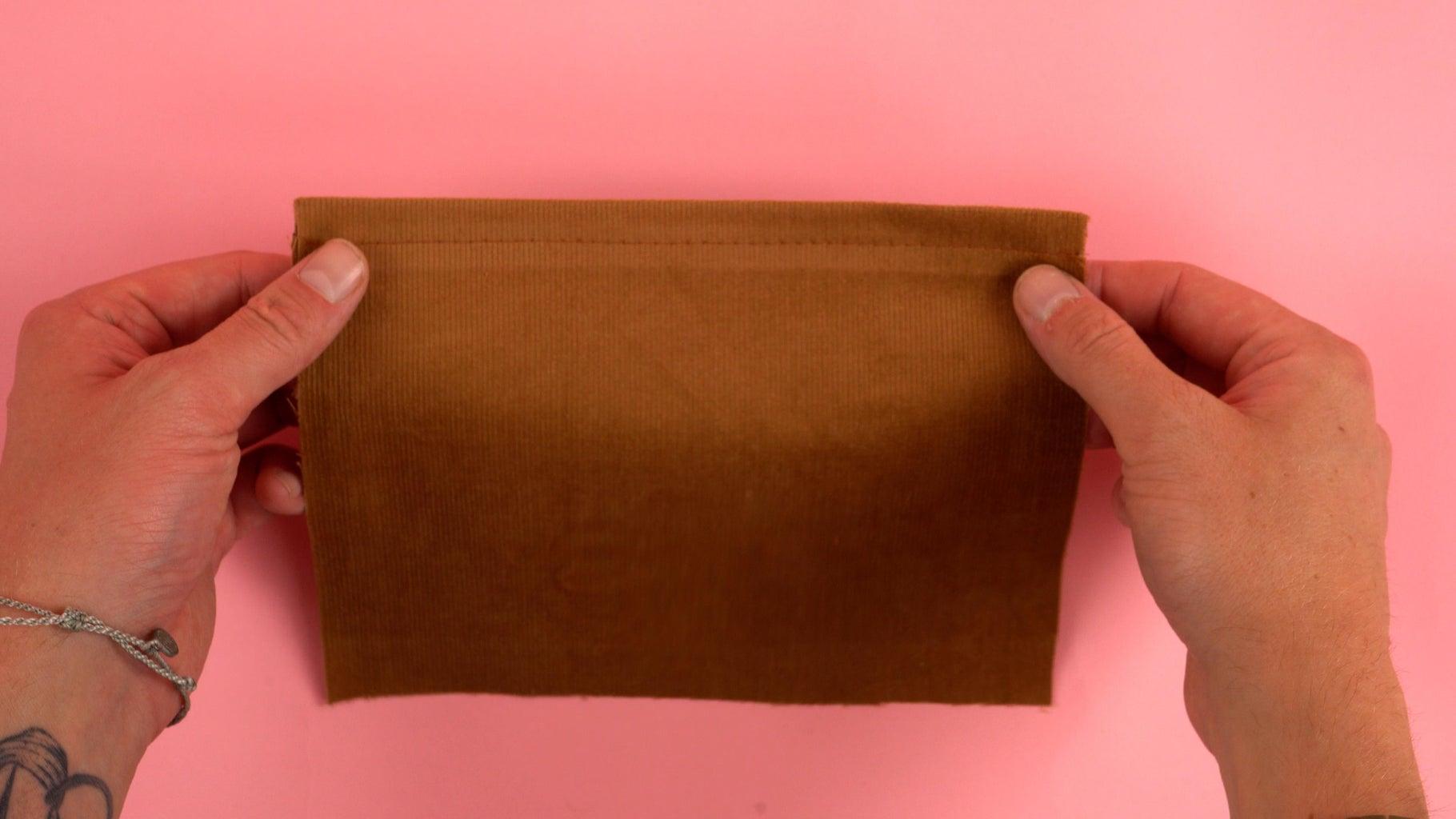 Hemming Front Pocket Panel