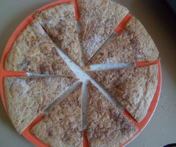 Three Ingredient Crispy Cinnamon Sugar Tortilla Chips