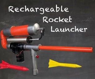 可充电火箭发射器
