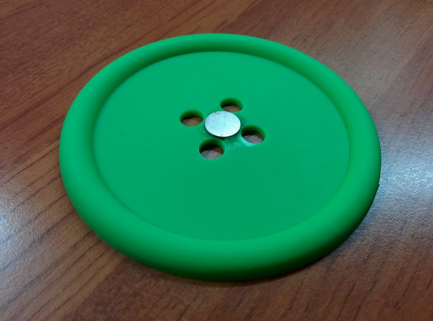 Attach Magnets to Coaster and Mug