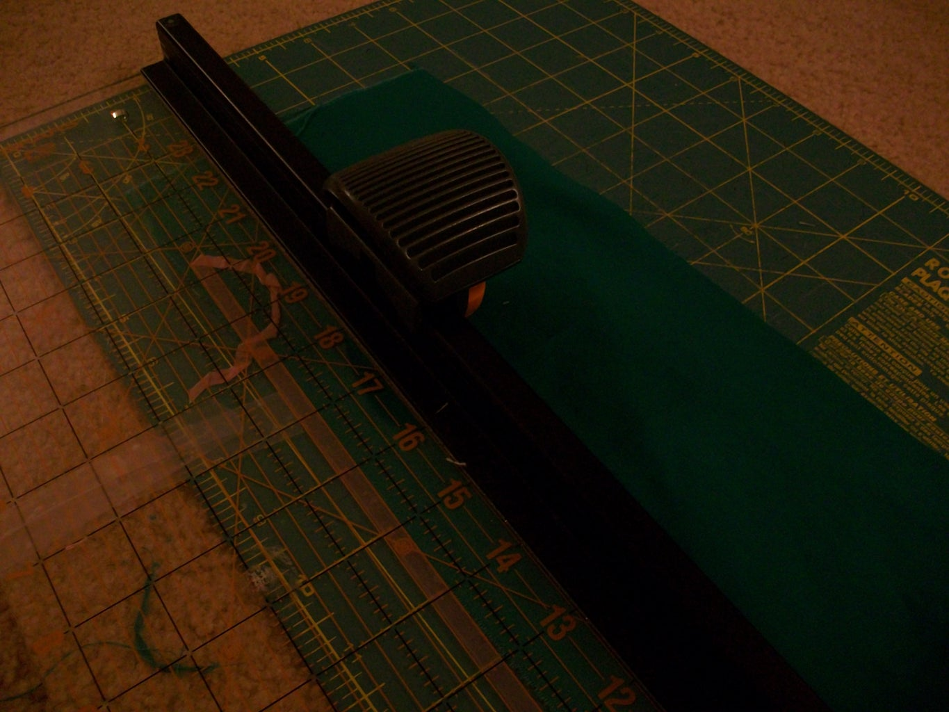 Step 10 - Cutting and Sewing the Borders