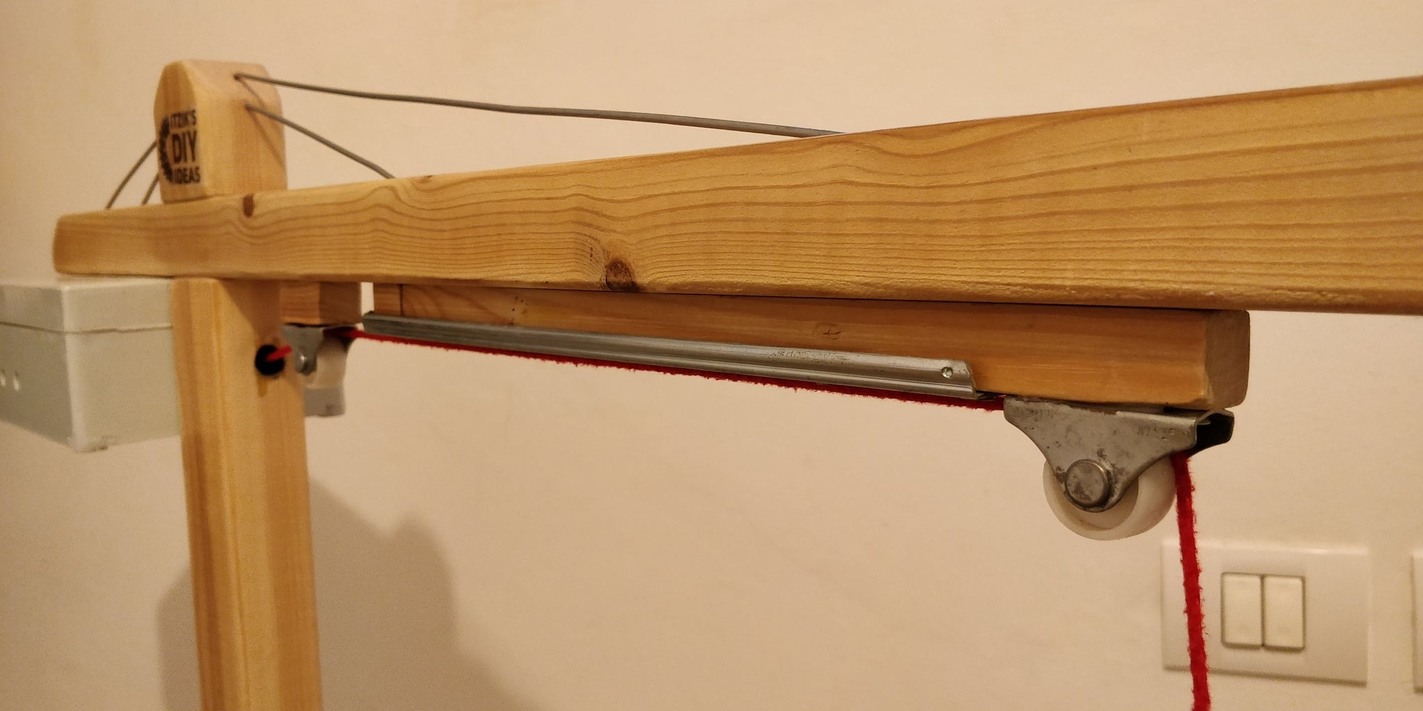 Woodworking - Mechanism Closeup