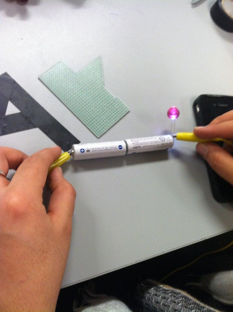 Create the LED Grapes