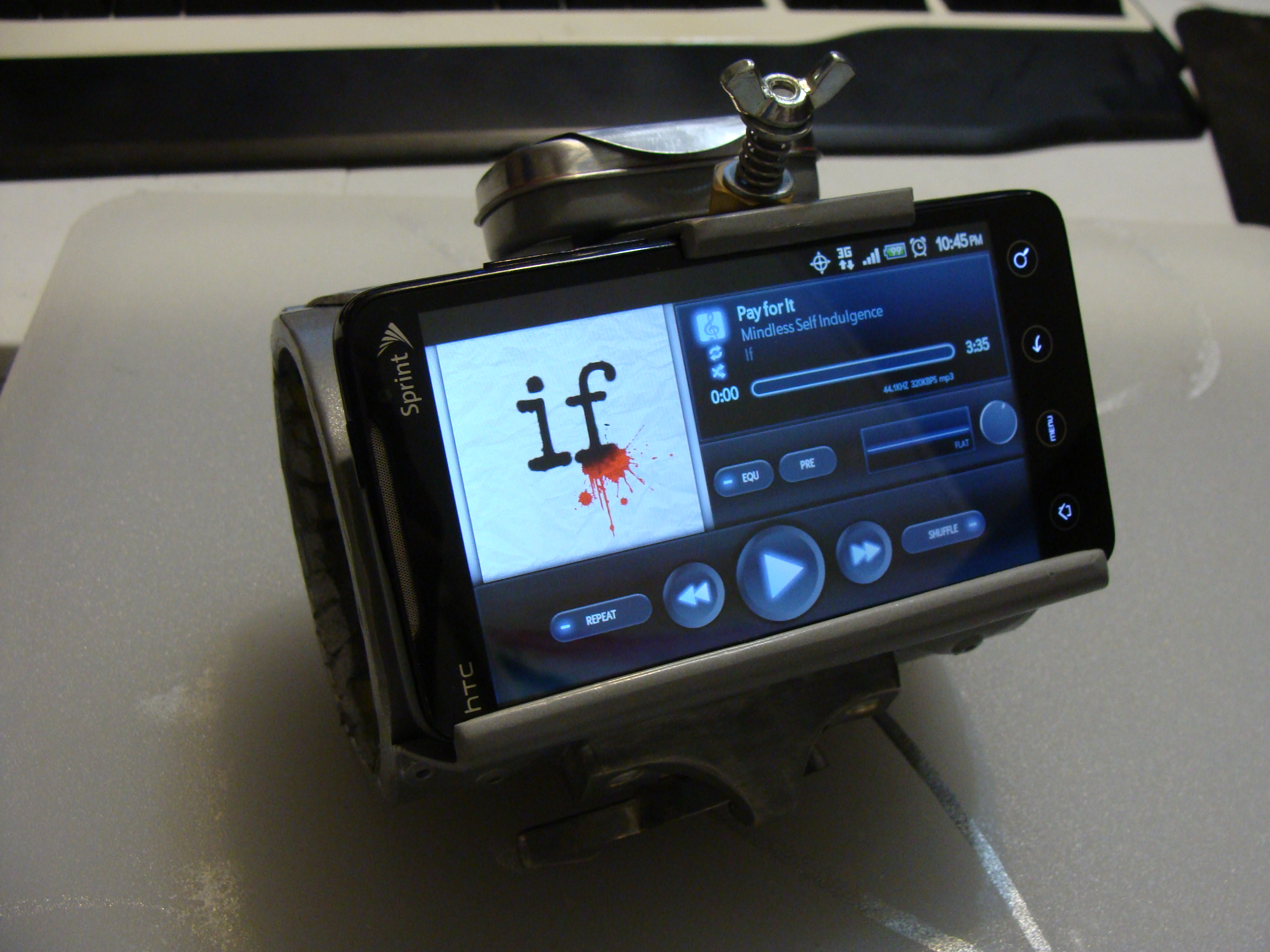 DieselPunk Pipboy 4G Wrist Thingy Phone Mount
