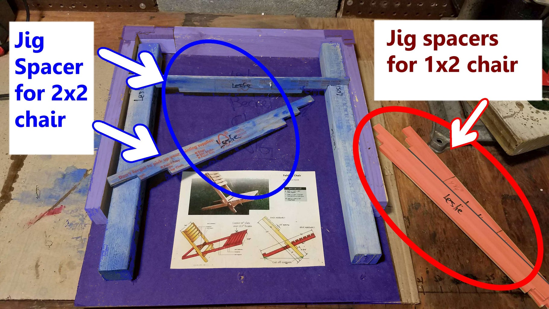 Let's Get the Supplies, and Start With Making a Jig