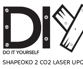 Shapeoko 2 CO2 Laser Upgrades