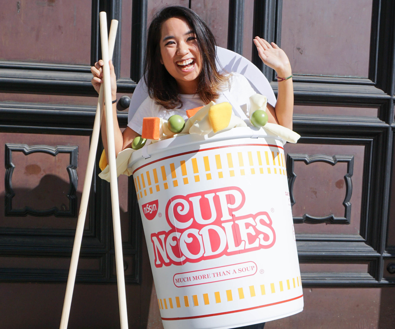 Cup Noodle Costume