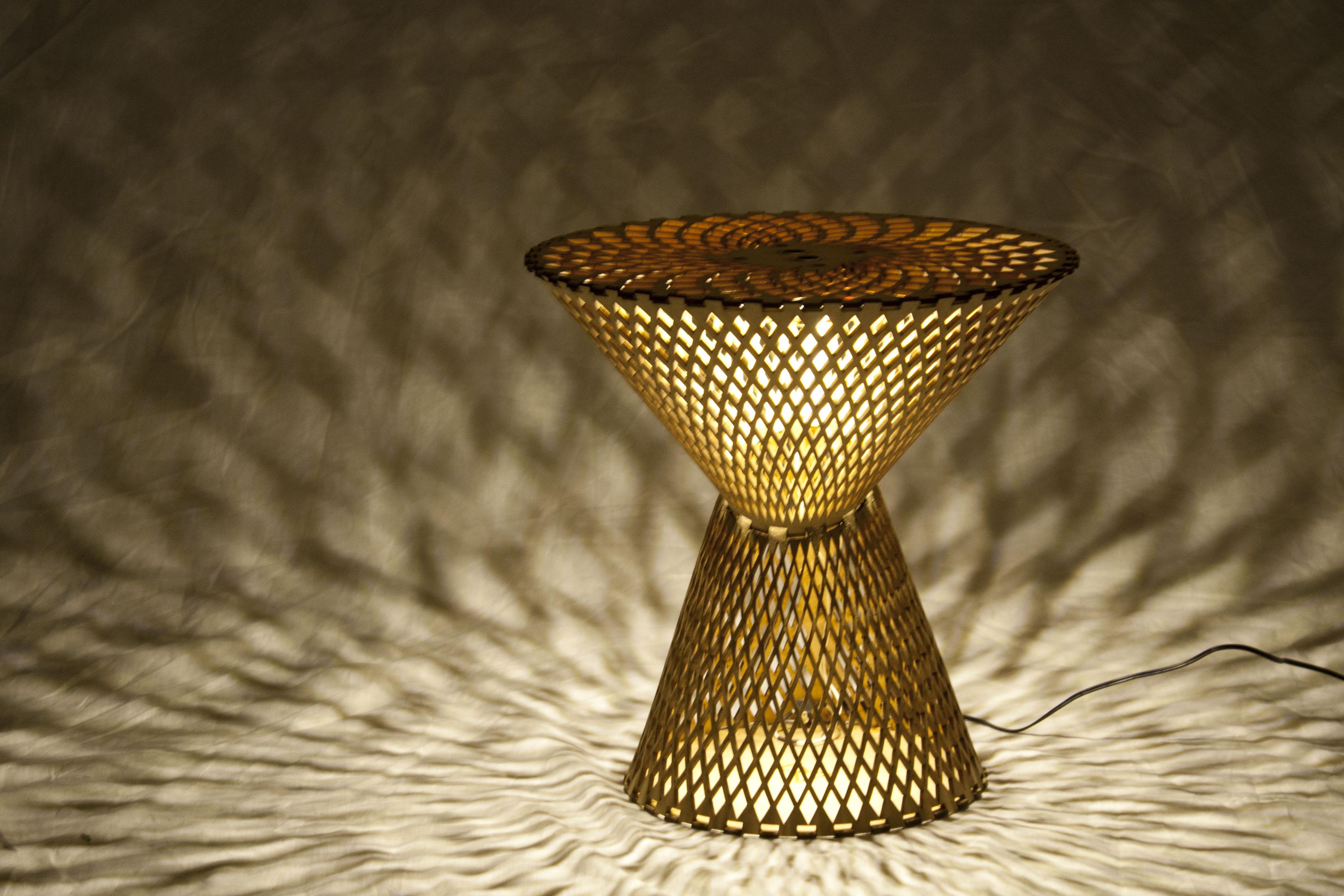 Kerf Table Lamp