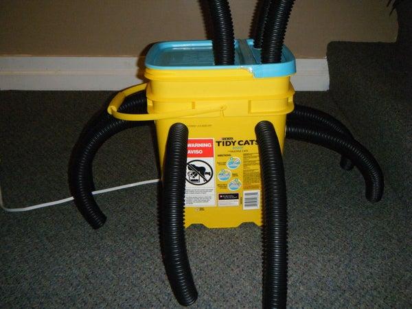 Boot/Glove Dryer From Exhaust Fan