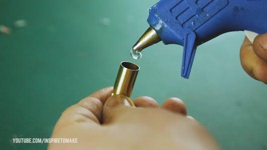 Paracord Bullet Shell Zipper Pull