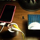 Diy solar phone charger