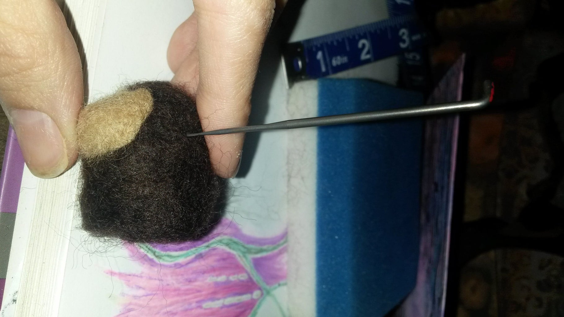 A Bit More Felting on the Body
