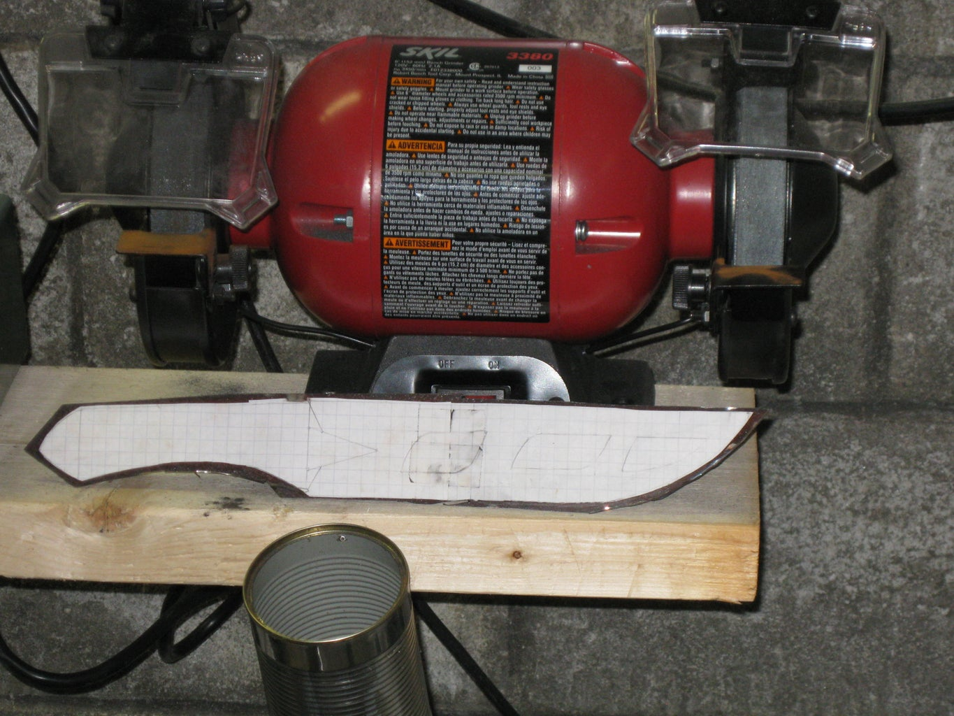 Making the Blade: Grinding the Shape