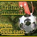Christmas Ornament From Soda Cans