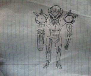 How to Draw Samus Aran