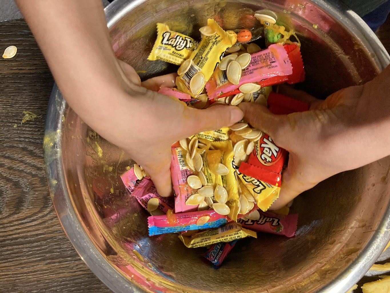 Preparing the Candy