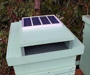 Solar Beehive Cooler