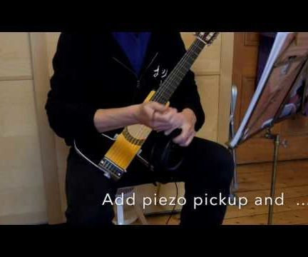 "DIY ""Silent"" Practise Guitar"