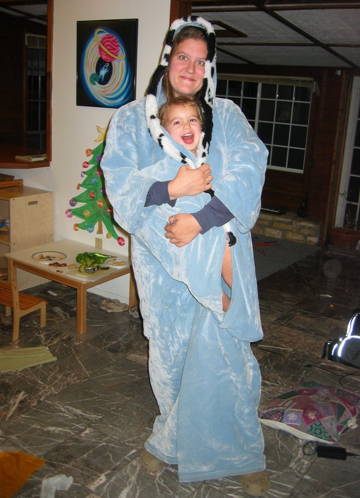 Instant Cozy Kimono Robe Made From Blanket