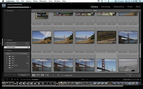 Importing Your Photos Into Lightroom