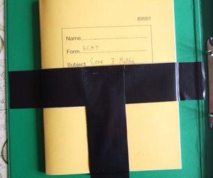 Duck/duct Tape Folder Book Pocket