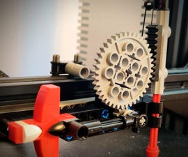Lego 3D Printer Bed Leveler