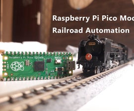 Raspberry Pi Pico Controlled Simple Automated Model Railroad | Model Railroad Automation