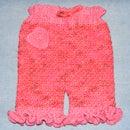 Crocheted Capris for Clara
