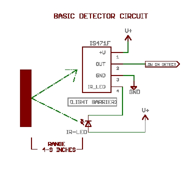 A very simple proximity detector