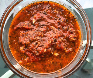 番茄,罗勒,大蒜Marinara酱