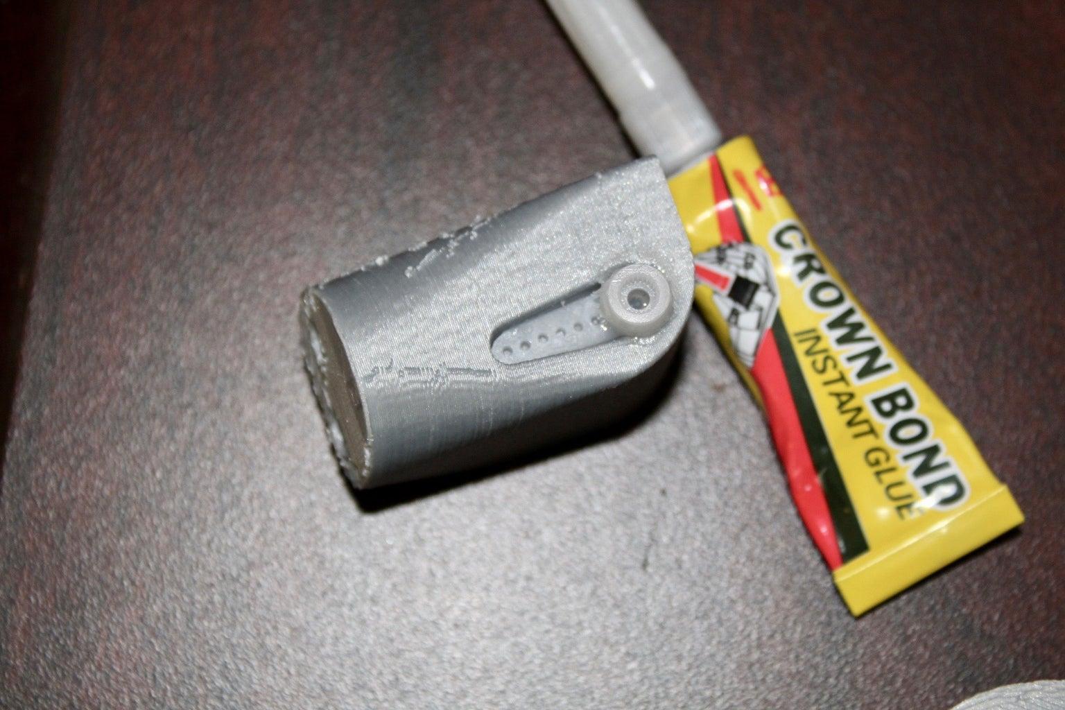 Mounting Thumb Joint Motor