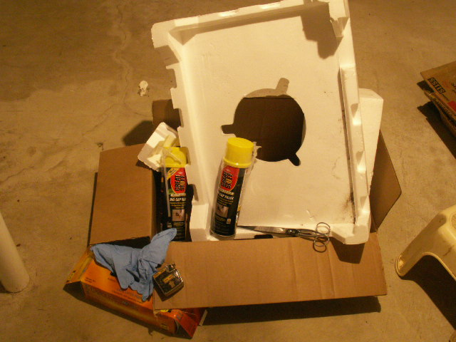 Recycled Styrofoam Block Insulation