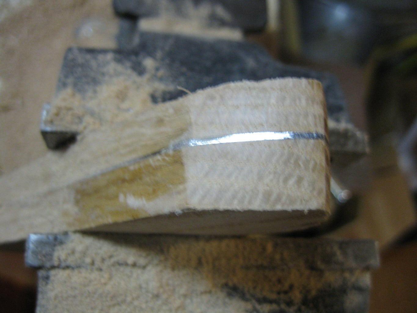 Making the Handle: Rough Shaping