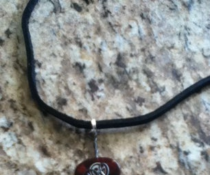 Wire Wrapped Guitar Pick Necklace