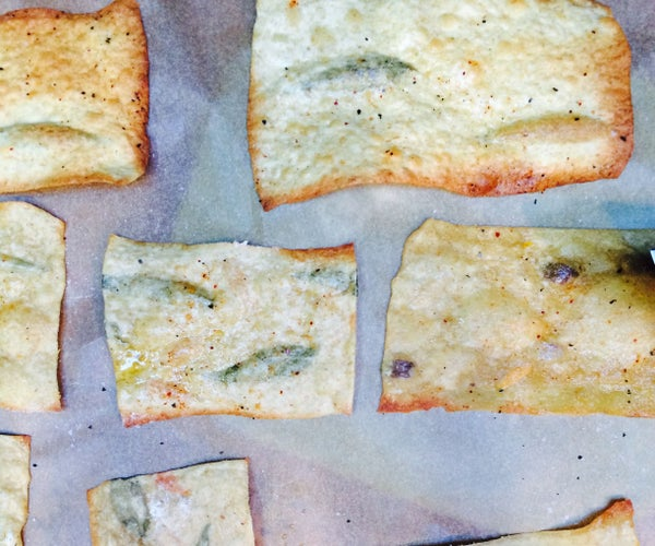 How to Make Flora(l) Flatbreads